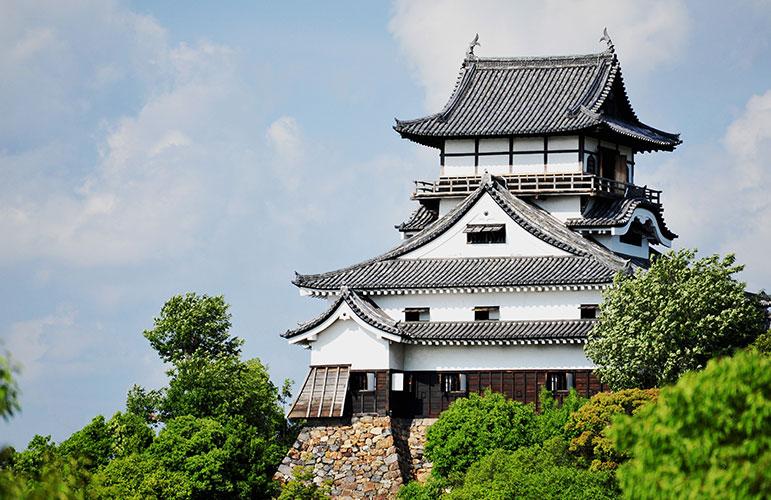 National treasure Inuyama Castle image
